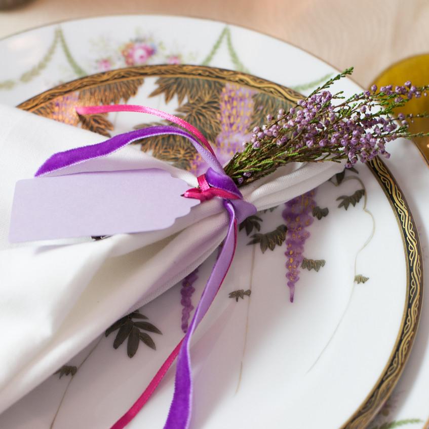 Berry Vintage Wedding