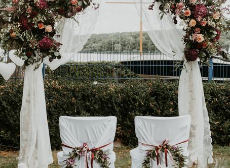 September Boho Wedding