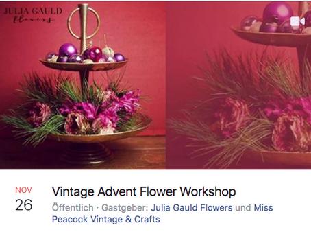 Wreath Workshop/ Kranz Workshop 26th of November 2018