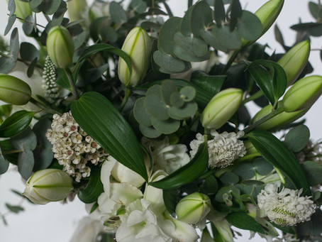 Wedding Flowers for lake villa Liebenberg