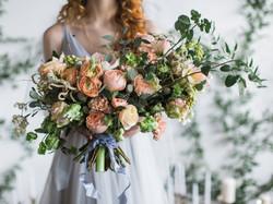Wedding. Bridal bouquet