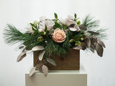 November Wreaths and Flowers