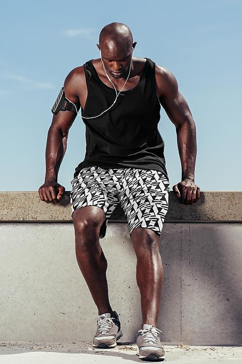 EZ Unisex Sweat Shorts (knee length)