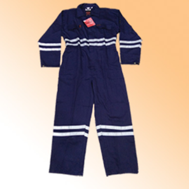FR Coverall 100% Cotton, reflective, fire proof, 240 gsm