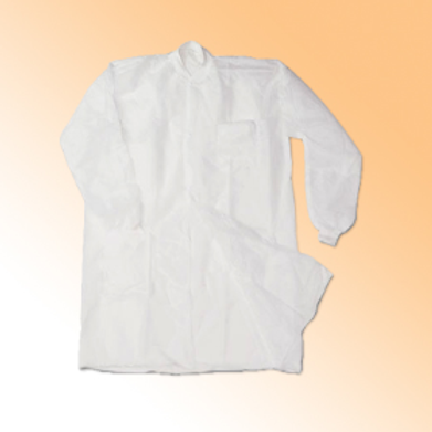 Non Woven Disposable lab Coat 40 gsm