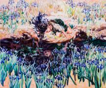 燕子花と青髪の少女