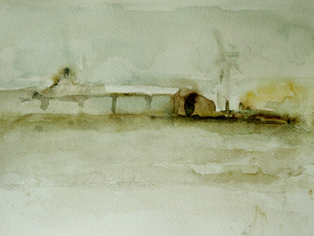 October and Expressive Art on the Mersey