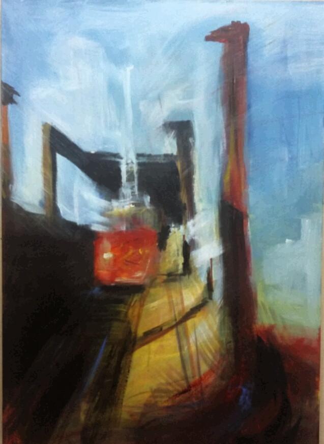 acrylic on canvas 30 x 25 cm