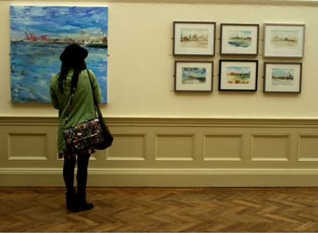 Views from Expressive Art on the Mersey Exhibition
