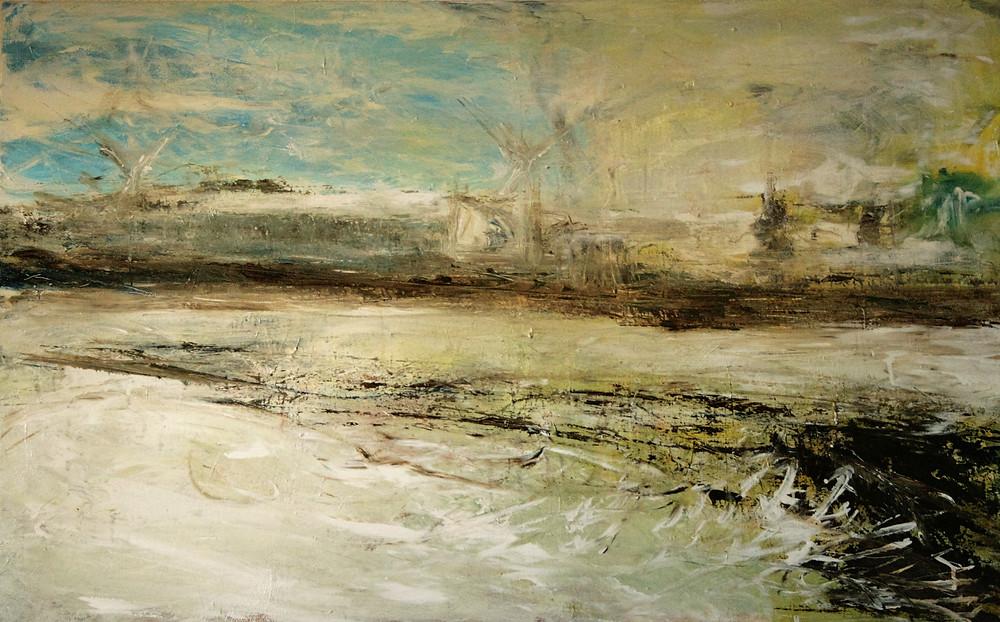 Acrylic on canvas 122 x 80 cm