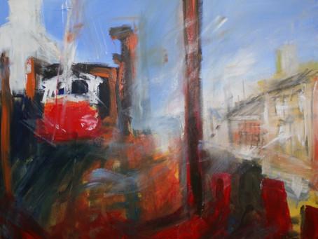 Overhead Railway Dock Road