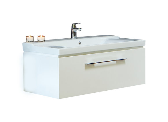 1060 Wall Cabinet and Basin