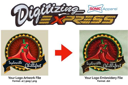 Order Your Logo Digitized