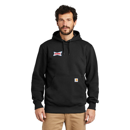 CT100615 CARHARTT® RAIN DEFENDER HEAVYWEIGHT HOODED SWEATSHIRT