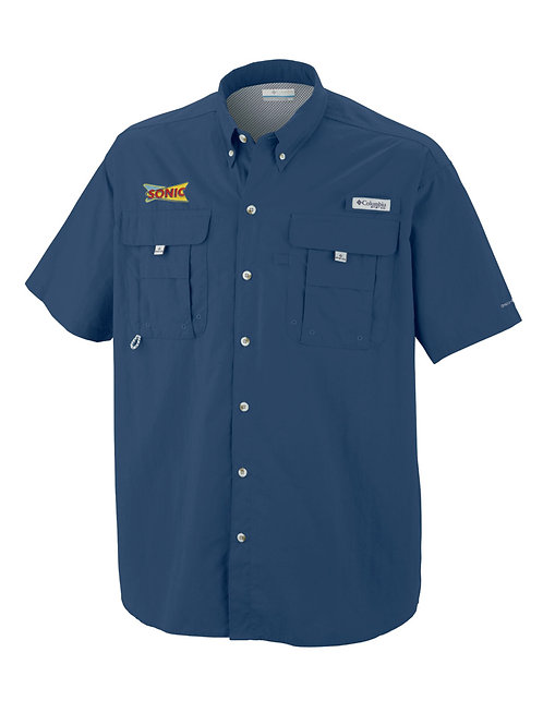 1011653 2 MENS TALL PFG BAHAMA II SHORT SLEEVE SHIRT