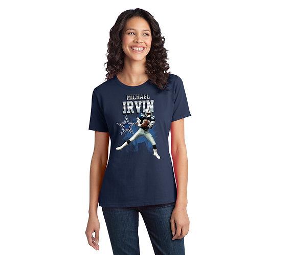 Michael Irvin Ladies Solo Graphic T-Shirt