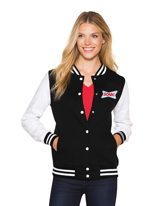 LST270 VARSITY LIGHTWEIGHT FLEECE JACKET