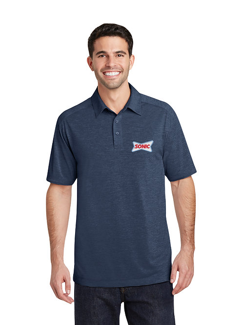 K574 PA PERFORMANCE HEATHER SONIC POLO