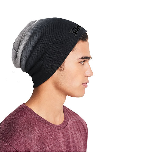 DT618 DIP DYED SLOUCH BEANIE
