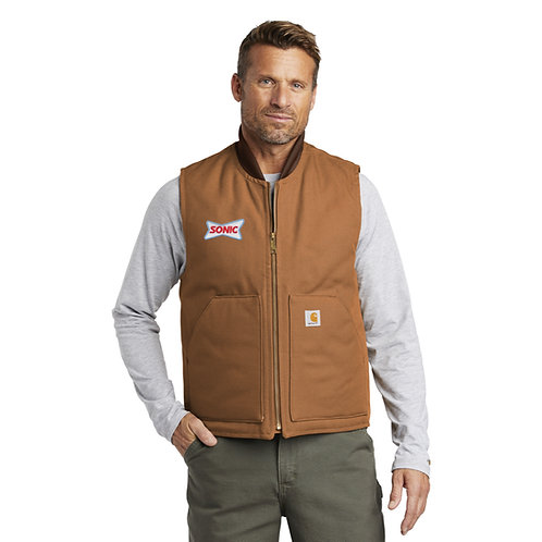 CTV01 CARHARTT® THERMAL LINED CORD COLLAR VEST