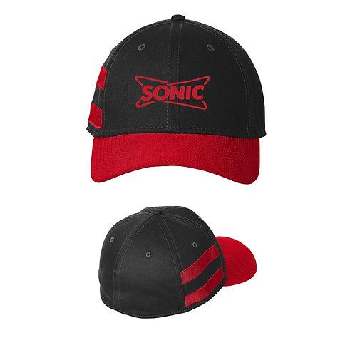 NE1122 NEW ERA PRO STRIPE FLEXFIT CAP