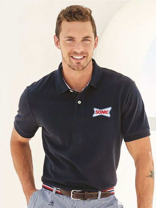 40913 TOMMY HILFIGER CLASSIC FIT IVY PIQUE SPORT POLO SHIRT