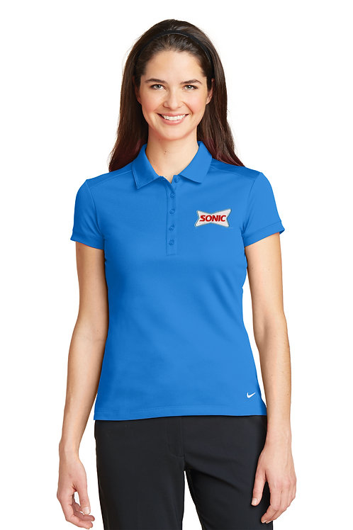 746100 LADIES ICON SOLID POLO