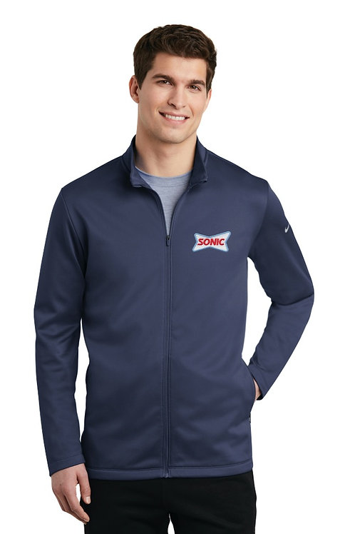NKAH6418 NIKE MENS THERMA-FIT FULL-ZIP FLEECE