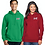 Thumbnail: PC78H SPORT FASHION HOODED FLEECE JACKET 2