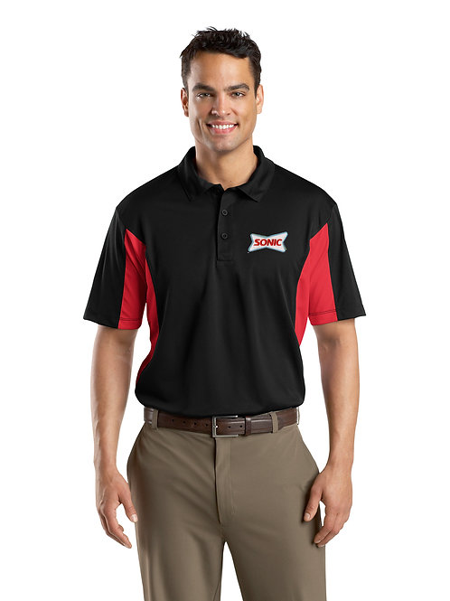 ST655 SIDE COLORBLOCK PERFORMANCE POLO