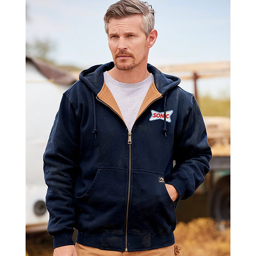 7033 DRI-DUCK CROSSFIRE HOODED SWEATSHIRT
