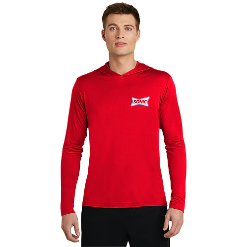 ST358 LIGHTWEIGHT STRETCH COMPETITOR HOODED PULLOVER