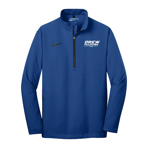 578675 NIKE DRI-FIT 1/2 ZIP WINDSHIRT