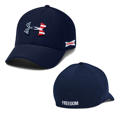 1362236 UA STRETCH FIT FREEDOM BLITZING HAT