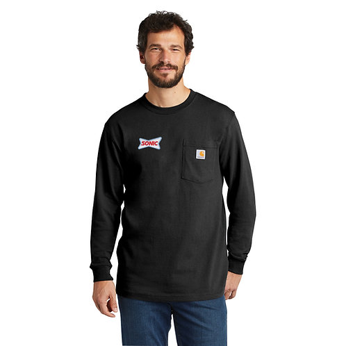 CTK126 CARHARTT® CLASSIC POCKET LONG SLEEVE SHIRT