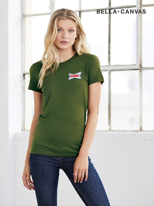 BC6004 BELLA + CANVAS LADIES RELAXED FAVORITE TOP