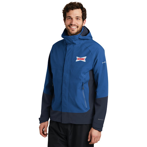 EB558 EDDIE BAUER HOODED WEATHEREDGE 5K/5K JACKET
