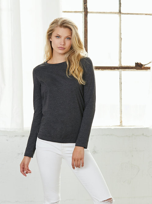 BC8850 BELLA + CANVAS LADIES RELAXED LONG SLEEVE TOP