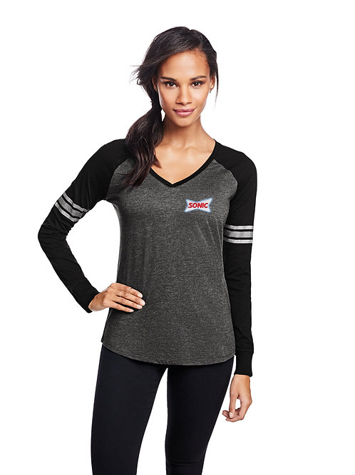 DM477 DISTRICT FASHION GAMEDAY LS SPORT TOP
