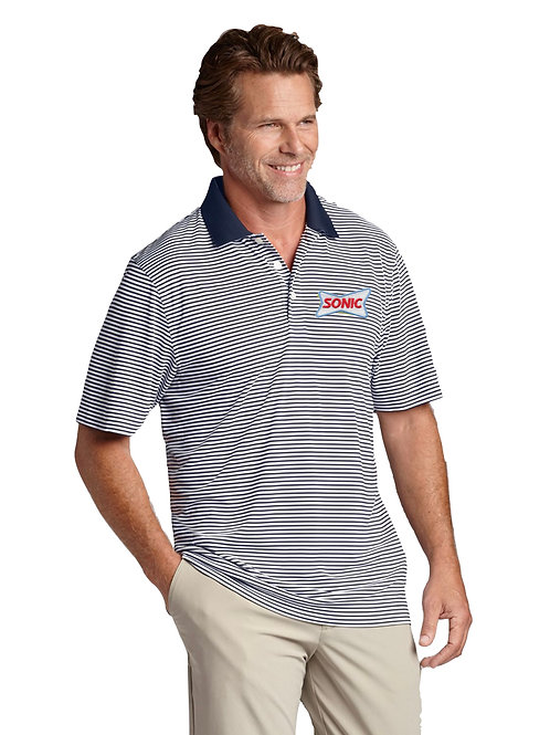 00332 CUTTER & BUCK TREVOR STRIPE POLO 2