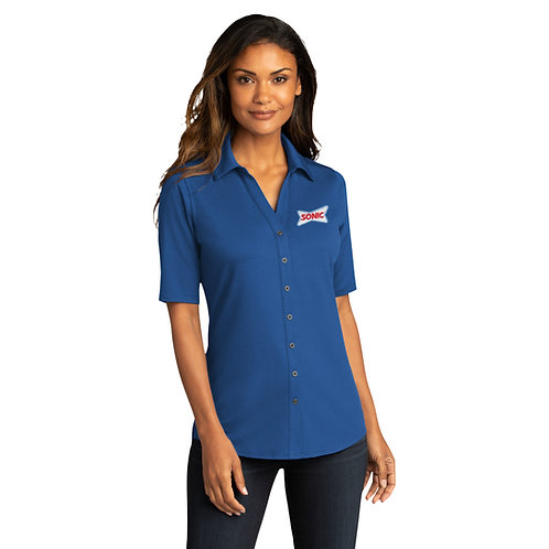 LK682 LADIES LUXE CITY STRETCH TOP