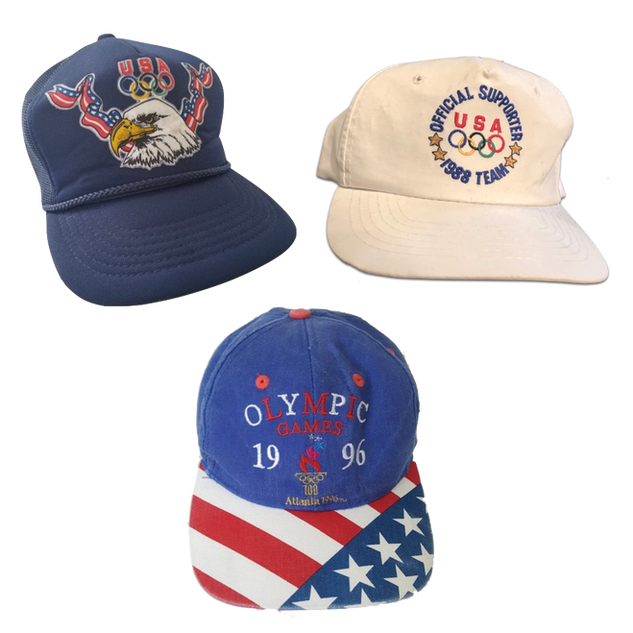 USA, USA, USA ! OLYMPIC CAPS