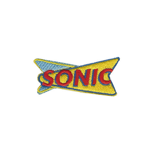 CLASSIC SONIC LOGO EMBROIDERY