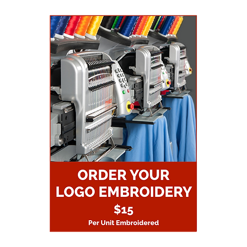 Order Your Logo Embroidered