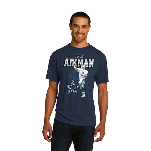 Troy Aikman Mens Solo Graphic T-Shirt