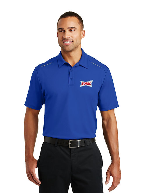 K580 PA PERFORMANCE PINPOINT MESH SONIC POLO