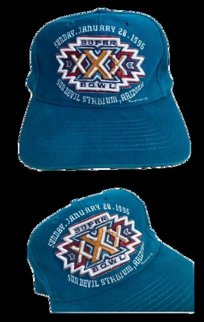 SUPER BOWL XXX 3D CAP
