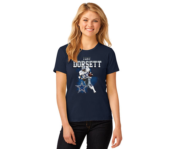 Tony Dorsett Ladies Solo Graphic T-Shirt