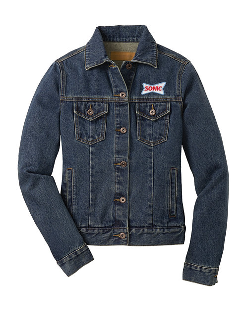 L7620 LADIES DENIM JACKET