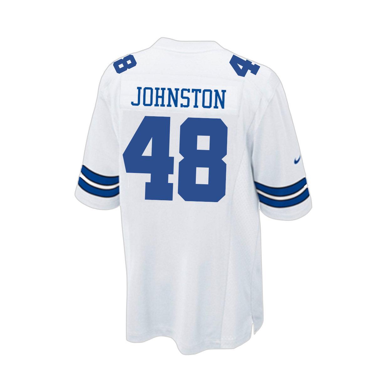 Daryl Johnston Nike Game Replica Jersey | Cowboys Legends